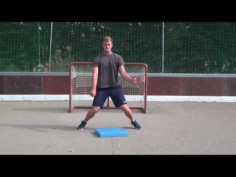 Off-Ice Eishockey Torwarttraining Teil 1