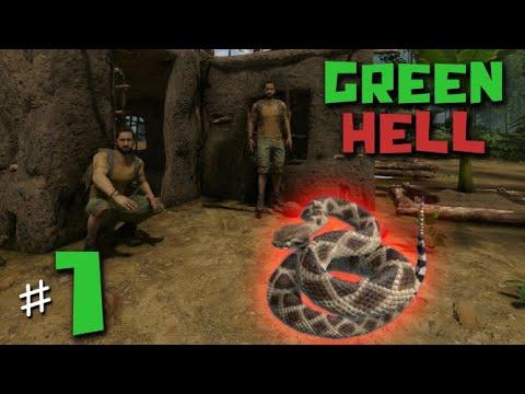 คืนเหงา เล่าสยอง ณ ป่า Amazon - Green Hell - วันที่ 1