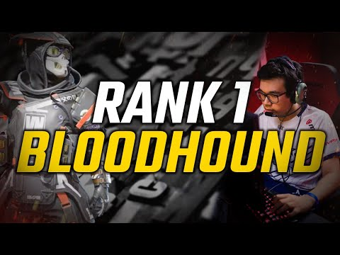 WHEN THE RANK 1 BLOODHOUND PLAYER SOLO QUEUES!!!   Reptar