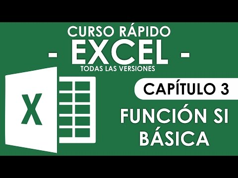 Curso Excel - Capitulo 3, Funcion SI (Audio Mejorado) Mp3