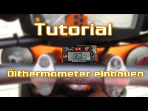Ölthermometer einbauen | Stage6 | SMC R 690 | Tutorial