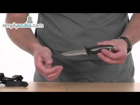 Scubapro Mako Stainless Steel Knife – www.simplyscuba.com