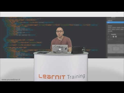 Webinar Dreamweaver <br>Learnit Training