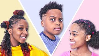 Epic Family Hair Makeover with Royal Oils and Gold Series