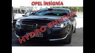 Opel İnsignia hidrojen yakıt sistem montajı