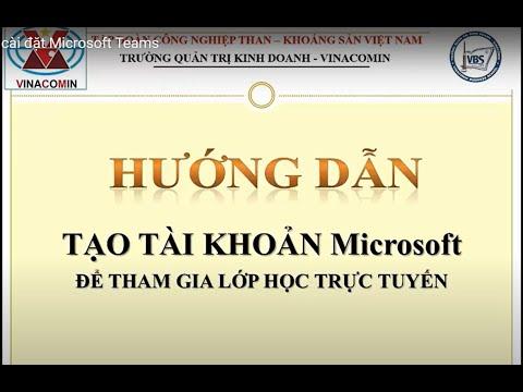 Hướng dẫn cài đặt Microsoft để tham gia lớp học trực tuyến