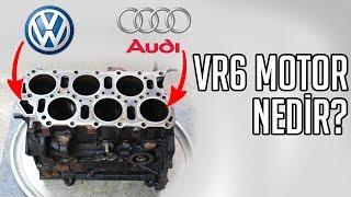 TEK BLOKTA V6 MOTOR   VR6 Nedir? Nasıl Çalışır?
