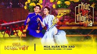 Mùa Xuân Xôn Xao - Vy Oanh, Nguyễn Phi Hùng | Gala Nhạc Việt 9 - Chúc Tết Mọi Nhà (Official)