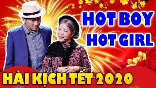 Hài Kịch Tết: HOTBOY GẶP HOTGIRL - Xuân Nghị, Thúy Nga | Hài Tết 2020 Hay Mới Nhất