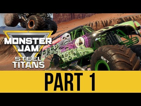 Gameplay de Monster Jam Steel Titans