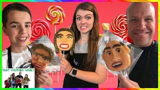 Lollipop Face Challenge / That YouTub3 Family
