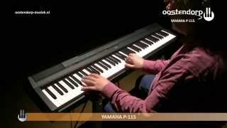 Yamaha P-115: video prova