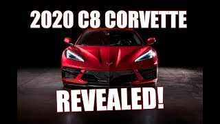2020 CORVETTE REVEALED - EVERYTHING YOU WANT TO KNOW IN A NUT SHELL