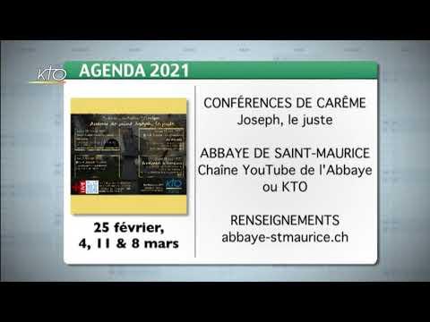 Agenda du 19 février 2021