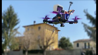 Eachine WIZARD X220S acrobatic drone - test 4k HDR