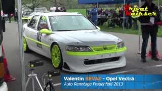 preview picture of video 'Opel Vectra STW - Valentin REVAZ // Auto Renntage Frauenfeld 2013 // E1 1601 - 2000 ccm'
