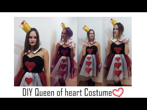 🎭DIY- Disfraz reina de corazones fácil y original- Queen of heart costume |  Nerea Iglesias
