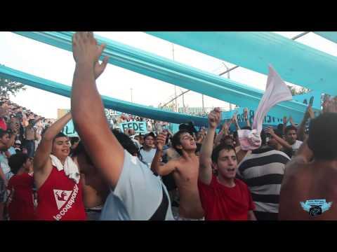 """""""Esta es tu hinchada la que te agradece con el corazón! (tema nuevo)"""" Barra: Los Piratas Celestes de Alberdi • Club: Belgrano"""