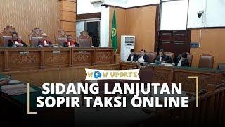 Pengadilan Negeri Jakarta Selatan Gelar Sidang Lanjutan Sopir Taksi Online yang Diduga Salah Tangkap