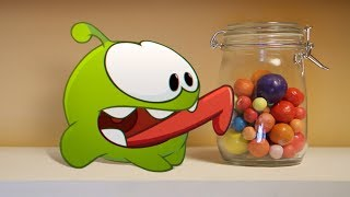 Candy Can | Om Nom Stories | Funny Cartoons For Kids | Cut The Rope