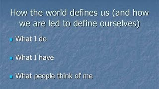 What Defines Us?