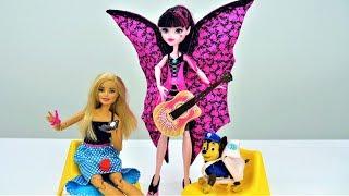 Мультики Бюро находок - Чей рюкзак: Барби или Дракулауры?