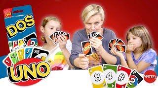 Gramy w Uno, Dos, gry karciane, Mattel