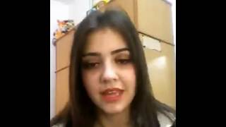 Very Beautiful (Arab) Girl On webcam