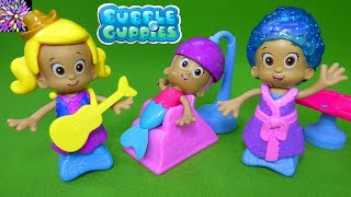 Bubble Guppies Snap And Dress Molly Salon Deema Oona Hairstyle Ballerina Cowgirl Princess Toys Video