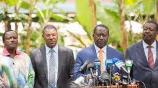 NASA Principals condemn the violence that followed the return for Raila Odinga