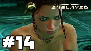 Enslaved Odyssey To The West - Gameplay Walkthrough Part 14 - Chapter 14: Pyramid [HD] Xbox 360 PS3
