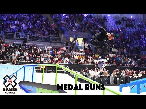 MEDAL RUNS: Monster Energy Men's Skateboard Street | X Games Norway 2019