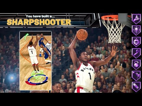 NBA 2K20 DEMO | BEST SF SHARPSHOOTER BUILD THAT CAN DUNK! My Career Gameplay Ep. 1
