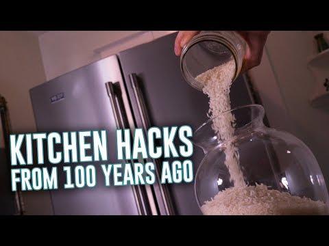 100 år gamle kjøkkentriks som funker i dag