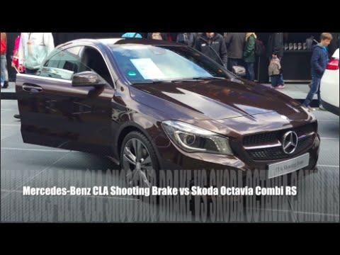 Mercedesbenz Cla Class Shooting Brake Универсал класса C - тест-драйв 4