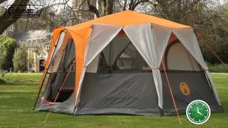 Coleman® Cortes Octagon 8 - Eight person Award Winning Family Tent - EN