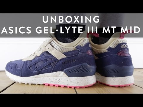 Sneaker Unboxing Asics Gel-Lyte Iii Mt Mid | On Feet | The New Collections | Llomotes