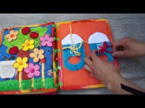 Libros de tela para bebés y niños