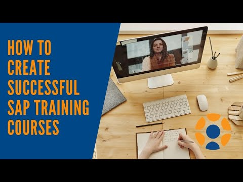 How to create successful SAP training courses (Advice from MMC ...