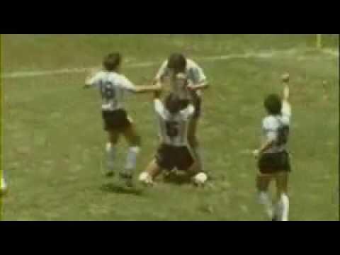 Finale de la coupe du monde 1986 video de football - Finale coupe du monde 1986 ...
