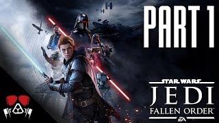 JUST LIKE DARK SOULS! | Star Wars: Jedi Fallen Order #1