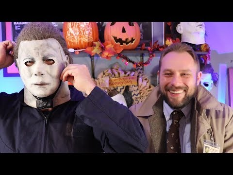 Michael Myers SHOCK COLLAR Bloopers and Outtakes