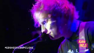 Ed Sheeran 'No Diggity / Thrift Shop' Mashup | Performance | KiSS 92.5