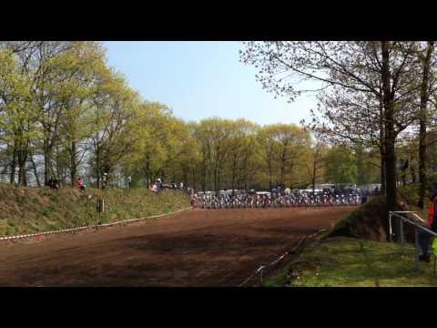 Motorcross Overloon Start Bart Brouwer ( 55) / Mike van hoeijen ( 1)