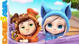 🐞Nursery Rhymes And Baby Songs | Kids Songs By Dave And Ava 🐞