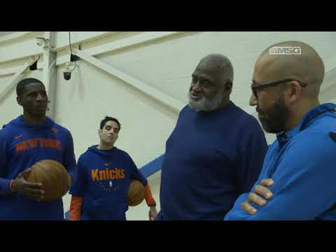 Willis Reed's Words of Wisdom to the Knicks | New York Knicks Gamenight