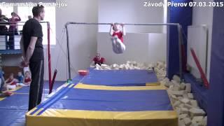preview picture of video 'Gymnastické závody Přerov 07.03.2015'