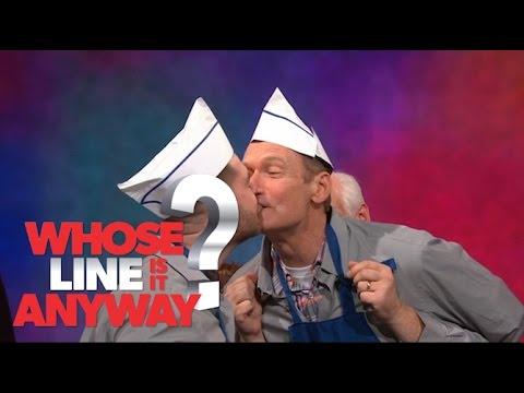 Náhradní ruce: Jack Osbourne jako servírka - Whose Line Is It Anyway?