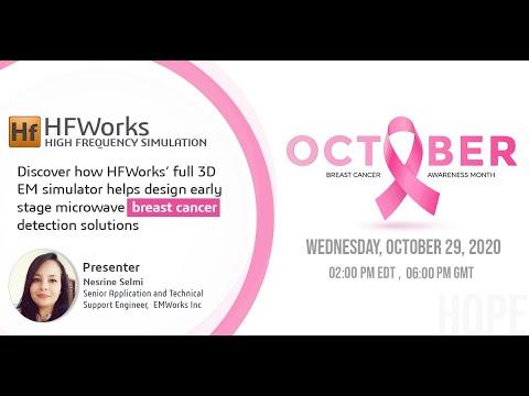 HFWorks' full 3D EM simulator helps design microwave breast cancer detection solutions
