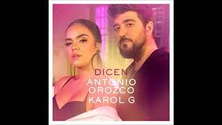 Antonio Orozco, Karol G   Dicen(jesus gonzalez dj edit rumbaton 2018)